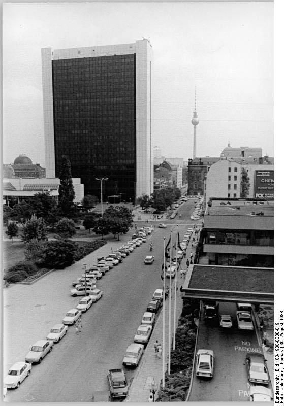 Berlin, internationales Handelszentrum