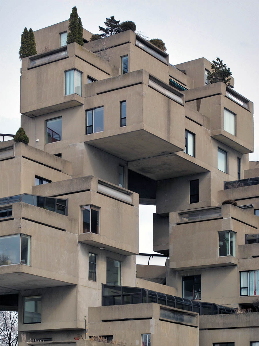 Habitat 67 ben bansal for Habitat 67 architecture